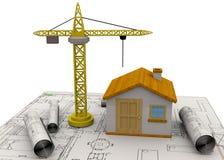 Planungs-Hauptkonzept - 3D Lizenzfreie Stockfotografie