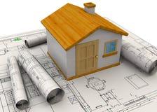 Planungs-Hauptkonzept - 3D Lizenzfreie Stockfotos