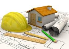 Planungs-Hauptkonzept - 3D Lizenzfreies Stockfoto