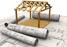 Planungs-Hauptkonzept - 3D Lizenzfreie Stockbilder