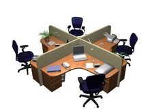 Planungs- und Führungsstab Stockfoto