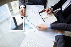 Planungsarbeit Lizenzfreies Stockfoto