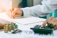 Planungseinsparungensgeld stockfotos