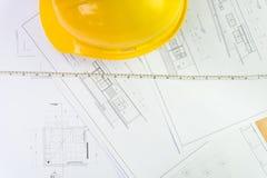 plany architektoniczne domów plany przemodelowywa narzędzi Zdjęcia Stock