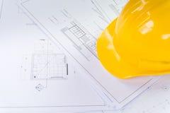 plany architektoniczne domów plany przemodelowywa narzędzi Zdjęcie Stock