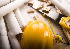 plany budowy Obrazy Stock