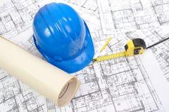 plany budowy Obrazy Royalty Free