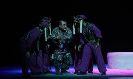 """Plany i intrygi--Peking opery """"Little Worriors Yeuh's family† obrazy stock"""