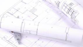 Plany i projektów obracać zdjęcie wideo