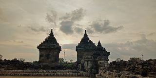 Plaosan świątynia zdjęcie royalty free