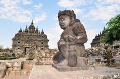 Plaosan Buddhist Temple in Yogyakarta,  Indonesia Royalty Free Stock Image