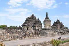 Plaosan Buddhist Temple in Yogyakarta,  Indonesia Stock Photography