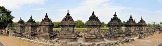 Plaosan Buddhist Temple in Yogyakarta,  Indonesia Stock Images