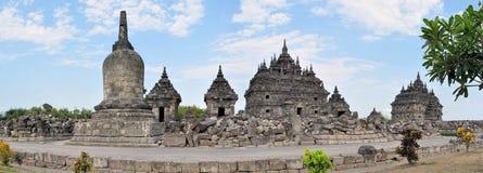 Plaosan Buddhist Temple in Yogyakarta,  Indonesia Stock Image