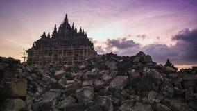 Plaosan tempel Fotografering för Bildbyråer