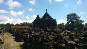 Plaosan tempel Arkivfoto