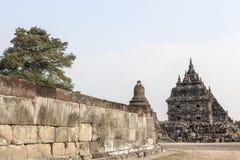 Plaosan Temple in Java Island, Indonesia. Ruins of Plaosan temple in Java island, Indonesia Stock Images