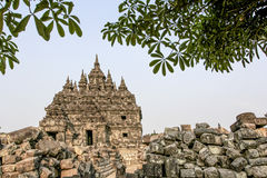 Plaosan Temple in Java Island, Indonesia Stock Photos