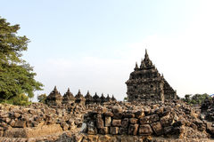 Plaosan Temple in Java Island, Indonesia. Ruins of Plaosan temple in Java island, Indonesia Royalty Free Stock Photo