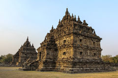 Plaosan Temple in Java Island, Indonesia Royalty Free Stock Photos
