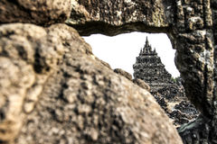 Plaosan Temple in Java Island, Indonesia Royalty Free Stock Photography