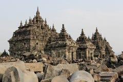 Plaosan Temple in Java Island, Indonesia. Ruins of Plaosan temple in Java island, Indonesia Royalty Free Stock Image