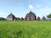 Plaosan temple yogyakarta Stock Image