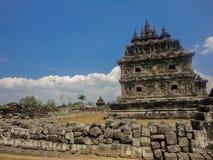 Plaosan temples at Java Royalty Free Stock Images