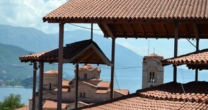 Plaosnik  church in Ohrid, Macedonia Stock Photo