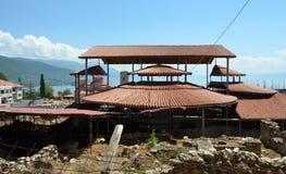 Plaosnik  church in Ohrid, Macedonia Royalty Free Stock Photography