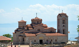 Plaosnik  church in Ohrid, Macedonia Stock Images