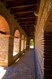 Plaosnik church tunnel Royalty Free Stock Images