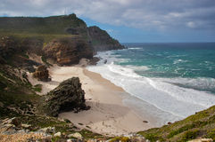 plażowego pięknego przylądka dobra nadzieja Obraz Royalty Free
