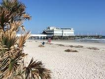 Plażowy Daytona Molo Obraz Royalty Free