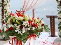 plażowy ślub Fotografia Stock