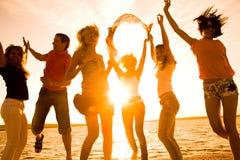 plażowy przyjęcie Obraz Royalty Free