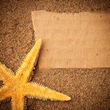 Plażowy tło Fotografia Stock