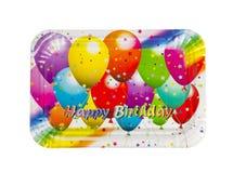 Plaque à papier de joyeux anniversaire Photo stock