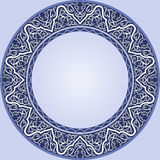 Plaque bleue Photographie stock libre de droits