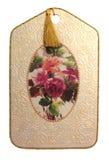 Plaque décorative photographie stock