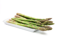 Plaque d'asperge photo libre de droits