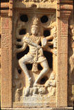 Plaque of Dancing Nataraja Stock Photo