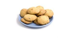 plaque de biscuits Photographie stock