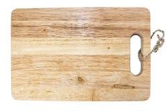 Plaque de découpage de bois Photo libre de droits