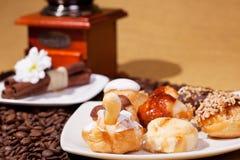 Plaque de desserts traditionnelle espagnole Photo libre de droits