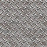 Plaque de diamant avec la corrosion (rouille) illustration stock