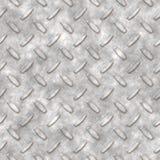 Plaque de diamant en métal Photographie stock libre de droits