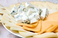 Plaque de fromage Photo libre de droits