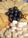 Plaque de fromages Image libre de droits