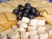 Plaque de fromages Image stock